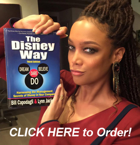 Tyra Banks and The Disney Way book